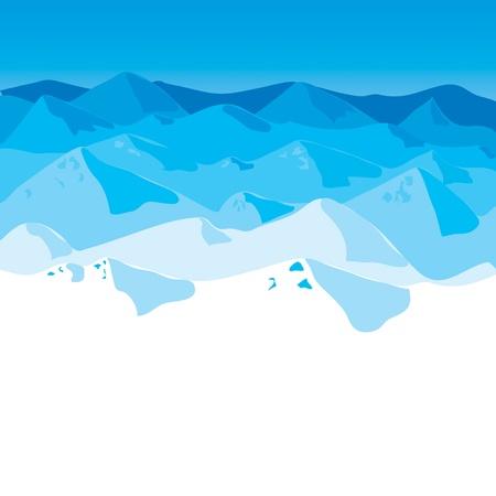 Mountains Stock Vector - 12854865
