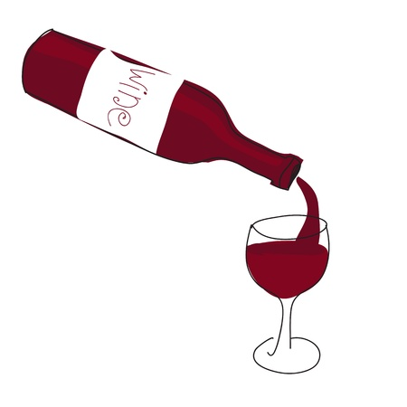 red wine pouring: red wine