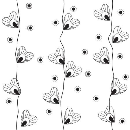 fine lines: pattern vector Illustration