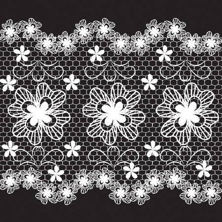 bordados: encajes de vectores