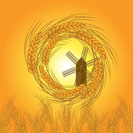 wheat vector Stock Vector - 12854948