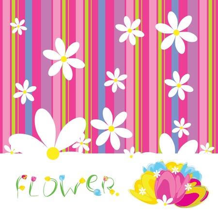 flowers vector Illustration