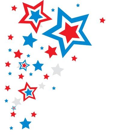 4 star: holiday background stars