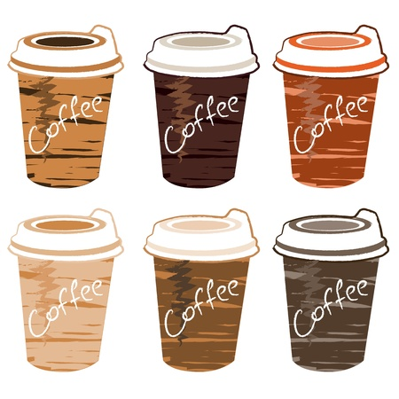 cup of coffee Stock Vector - 12855170