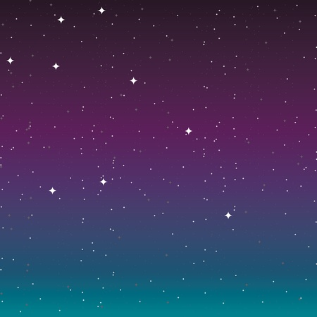 astral: the night sky with stars