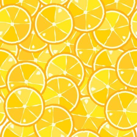 fruit clipart: seamless pattern of citrus