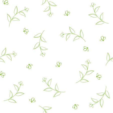 fabric textures: seamless pattern with flowers