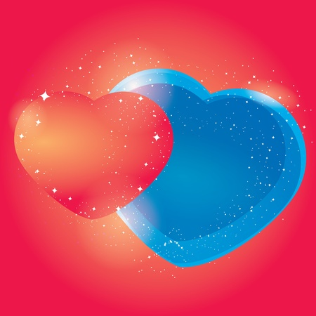 web design elements: abstract heart