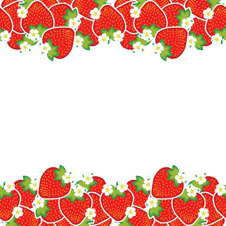 creative arts: ripe strawberries