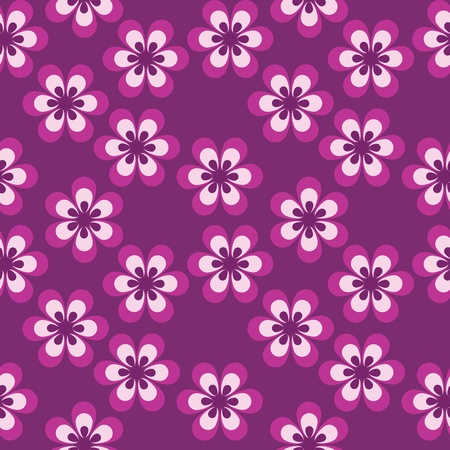 intentions: floral seamless pattern Illustration