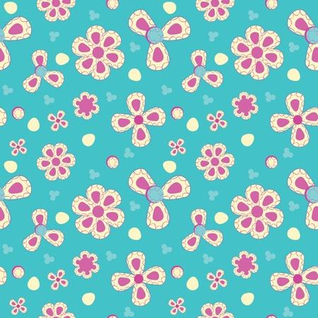 Fun abstract seamless pattern Vector