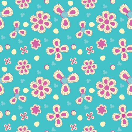 Fun abstract seamless pattern Vector