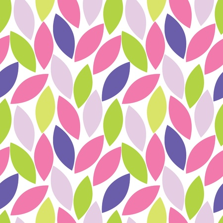 stylish: abstract seamless pattern of leaf
