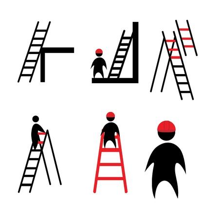 clipart ladder Ilustracja