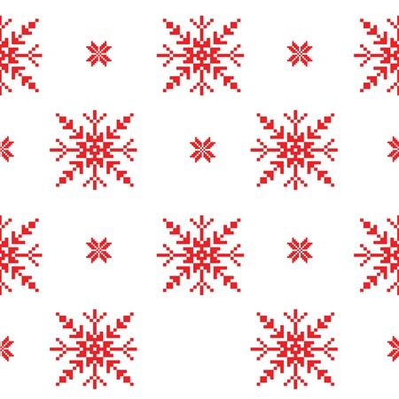 scandinavian christmas: Scandinavian seamless pattern