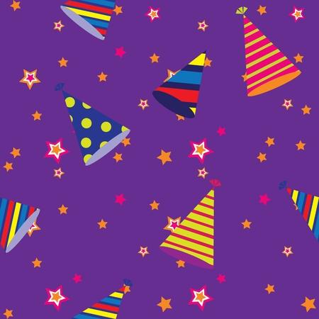 seamless pattern of celebration Vector