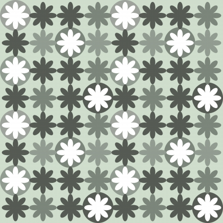 seamless abstract floral pattern Stock Vector - 13693144