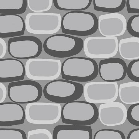 seamless texture of the stone Vector
