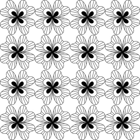 Seamless lace pattern Stock Vector - 13762035