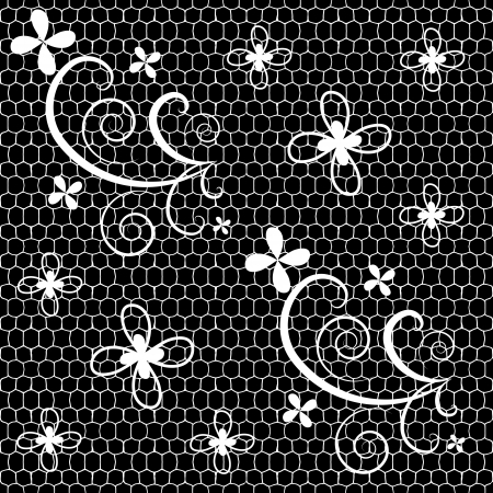 Seamless lace pattern Stock Vector - 13762033