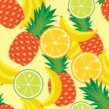 seamless pattern of fruit Stock Vector - 13773065