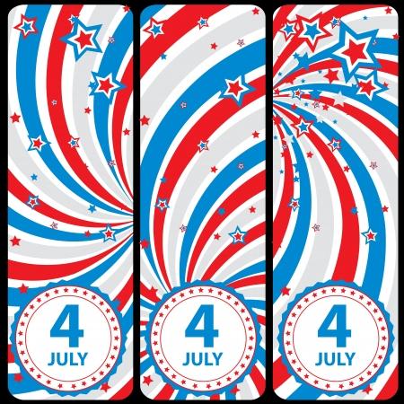 patriotic america: July 4th celebration background