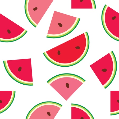 seamless pattern of watermelon Stock Vector - 14053904
