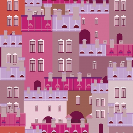 background of the city Vector