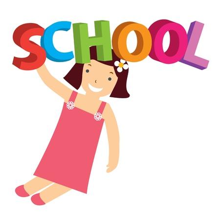 schoolchild: schoolchild Illustration
