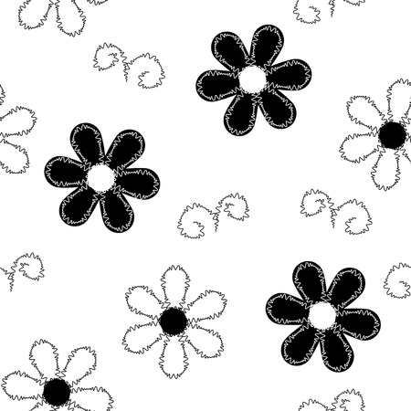 embroidered: Seamless pattern of embroidered lace