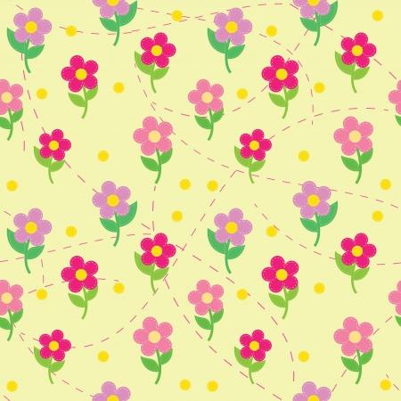 seamless des fleurs