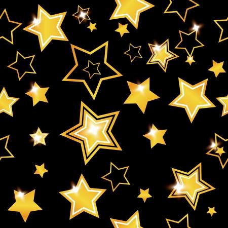 Résumé arrière-plan transparent avec des étoiles Banque d'images - 14530837