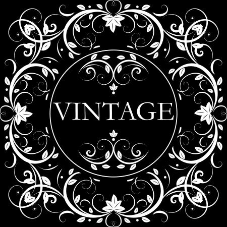 vector vintage decor Vector