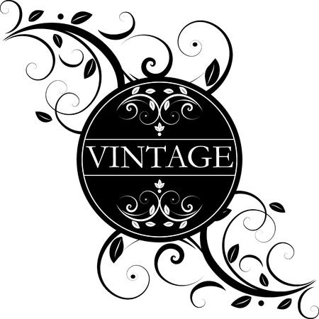 vector vintage decor