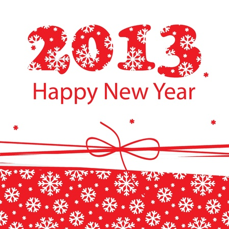 New Year greeting card Stock Vector - 15068111