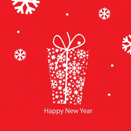 New Year greeting card Stock Vector - 15068110