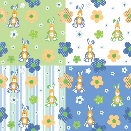 seamless pattern for baby Vector