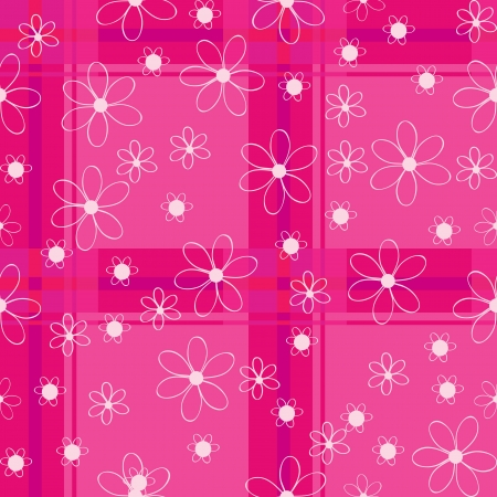 seamless floral pattern for a baby Stock Vector - 15377961