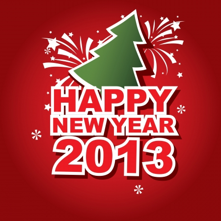 banner New Year 2013 Stock Vector - 15747878