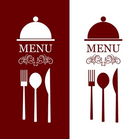 knives: vector restaurant menu