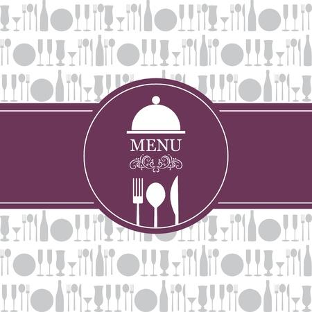 logos restaurantes: vector men� del restaurante