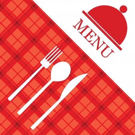 Меню ресторана векторные Иллюстрация