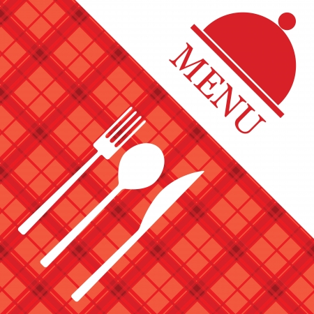 Menu de restaurant Vecteur Banque d'images - 15976150