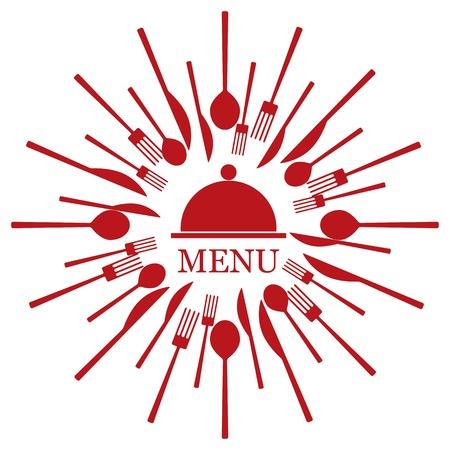 logos restaurantes: Vector men� del restaurante Vectores