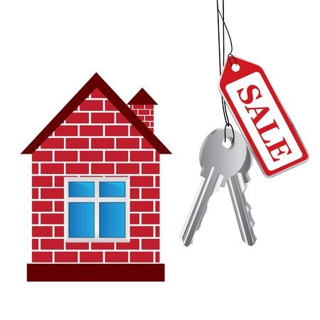 house, sale House Vector