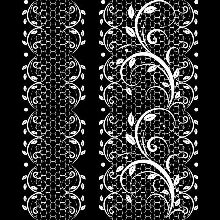 black lace: pattern lace