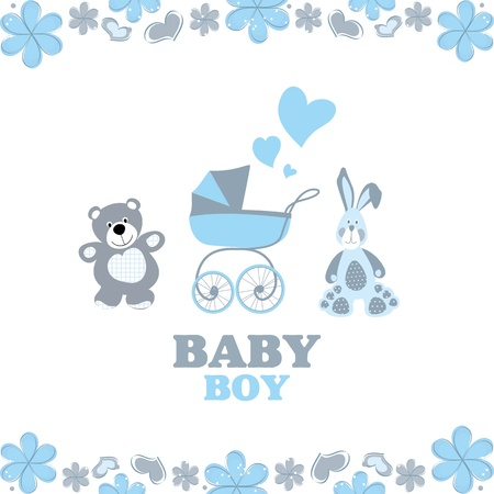 greeting card for baby boy