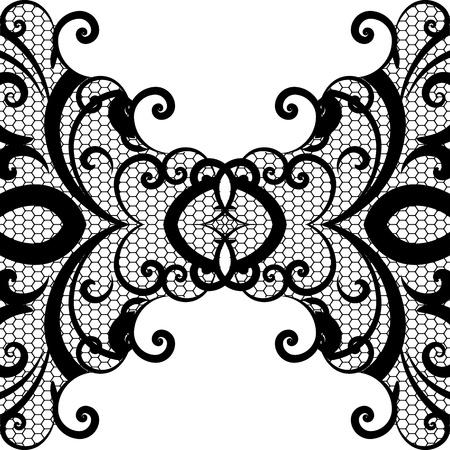 фона вектор кружева