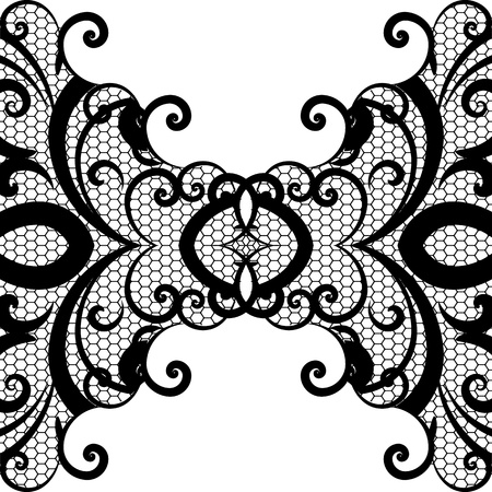 vector lace background Vector