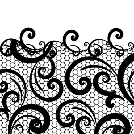 lace background: vector lace background Illustration
